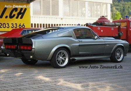 Ford Mustang Shelby Gt500 Eleanor 1967 Technische Daten